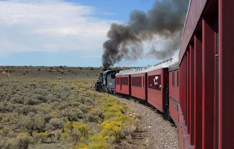 Riding Colorado's Vintage Railways