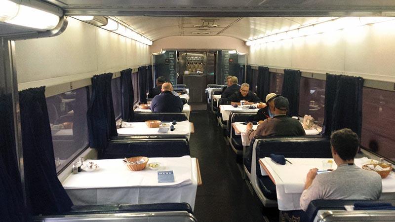 Amtrak Heritage Diner 8509