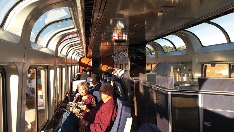 Amtrak Superliner Lounge
