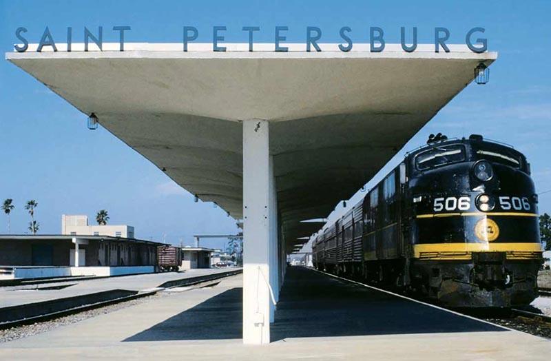 What Degrees Is It Outside >> Seaboard Coast Line Passenger Service - Passenger Train ...