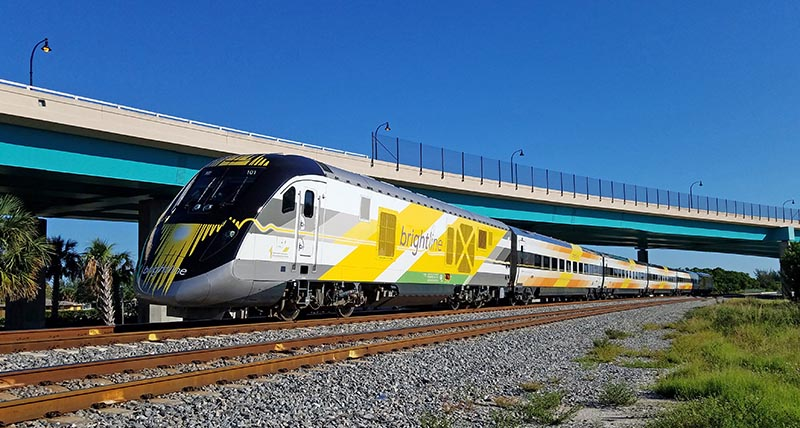 West Palm Beach to Miami on Florida's Brightline