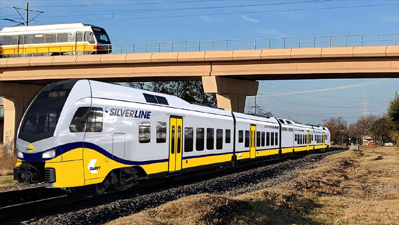 Future DART Cotton Belt Service renamed Silver Line