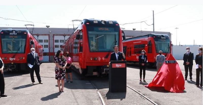 San Diego Takes Delivery of Final LRV Needed For Extension