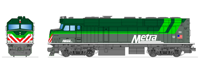 Metra Seeks Proposals to Build Battery-Powered F40PH